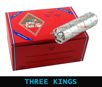 THREE KINGS HOOKAH CHARCOAL