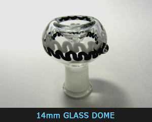 14 mm glass dome