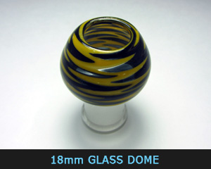 18 mm glass dome
